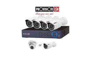 installazione video sorveglianza provision kit home securituy grosseto maremma elettromeccanica moderna